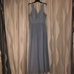 Dresses & Skirts - AZAZIE NATASHA IN DUSTY BLUE